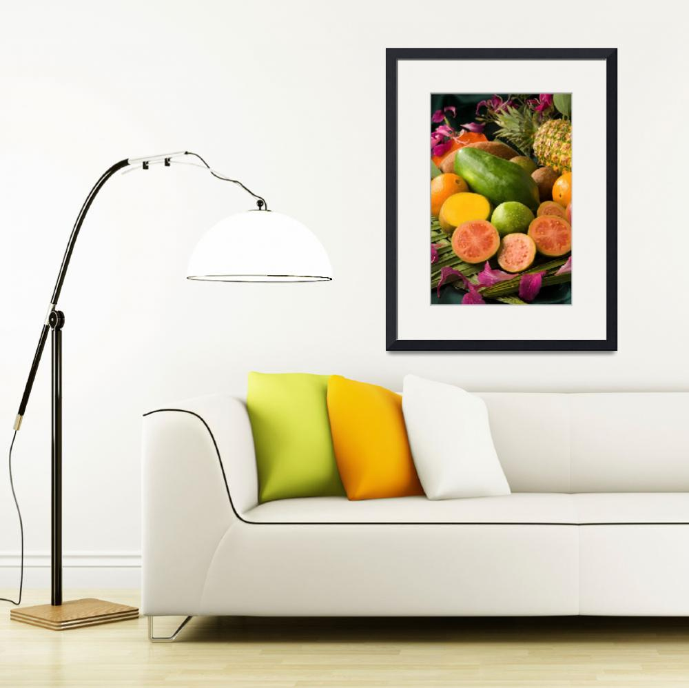 """""""Tropical Fruits&quot  (2007) by Alleycatshirts"""