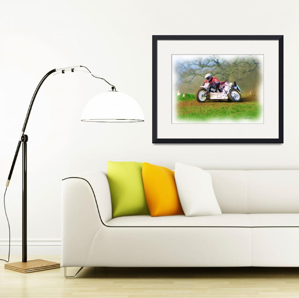 """""""Grass Track Racing 2""""  (2011) by IanGMclean"""