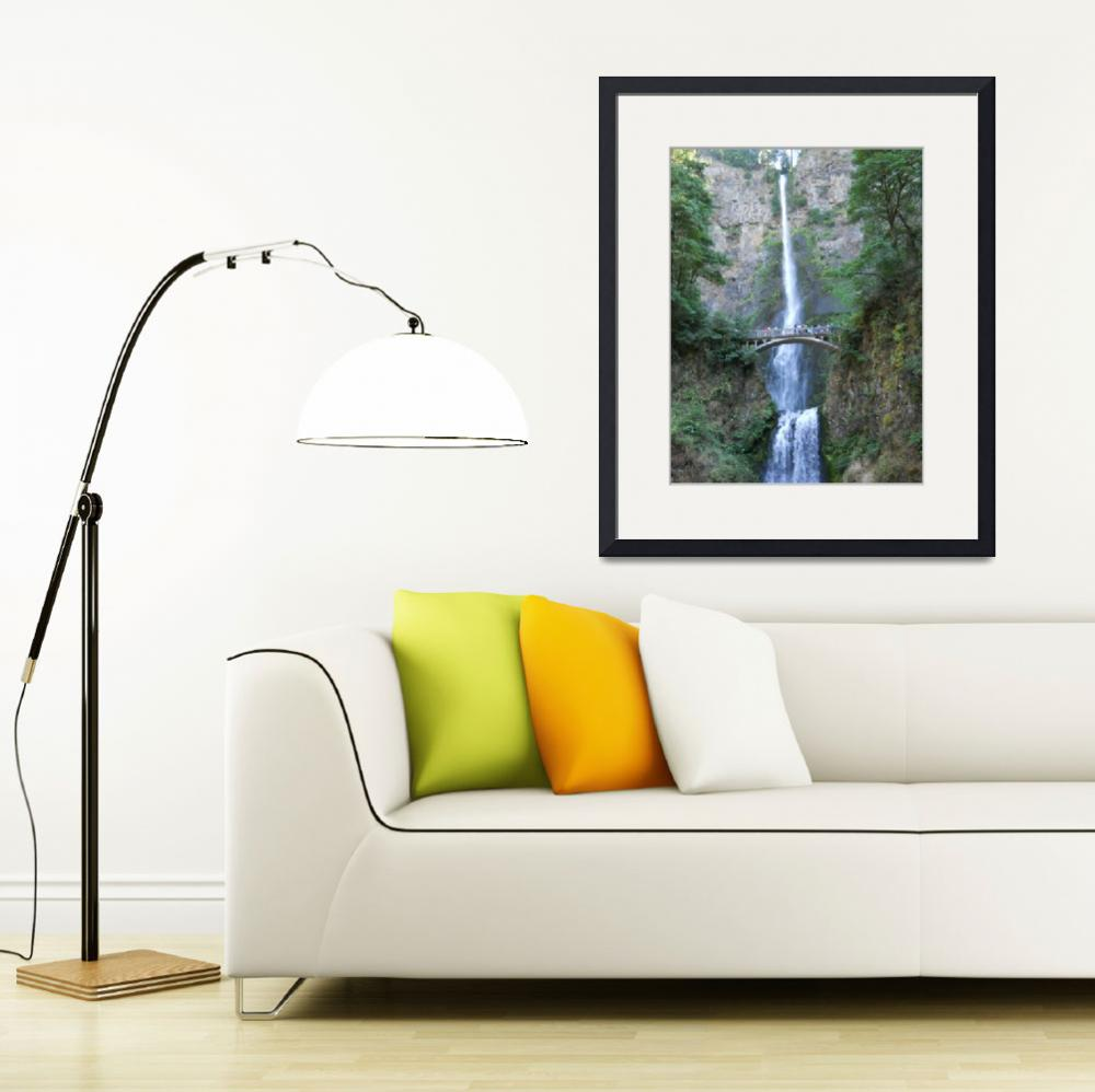 """""""Multnomah Falls&quot  (2012) by MikeCressy"""