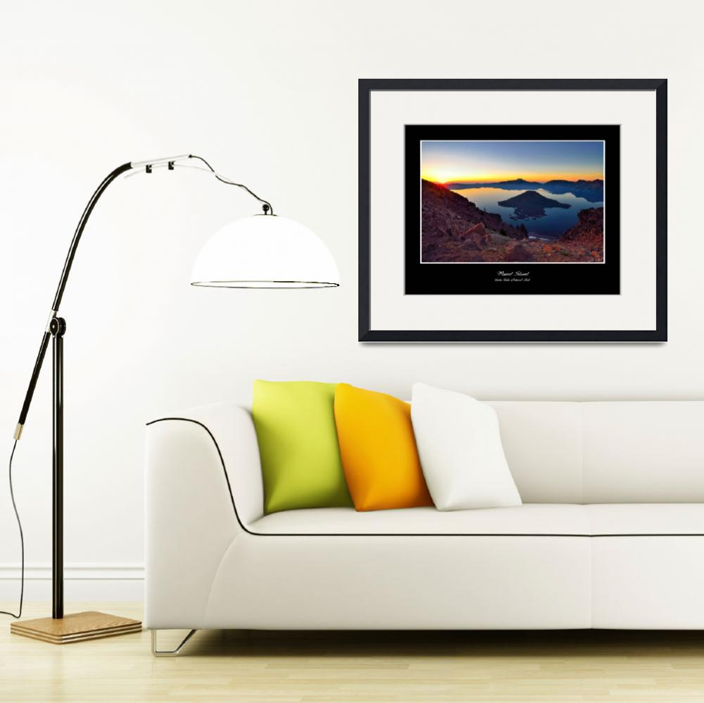 """""""CraterLake&quot  by"""