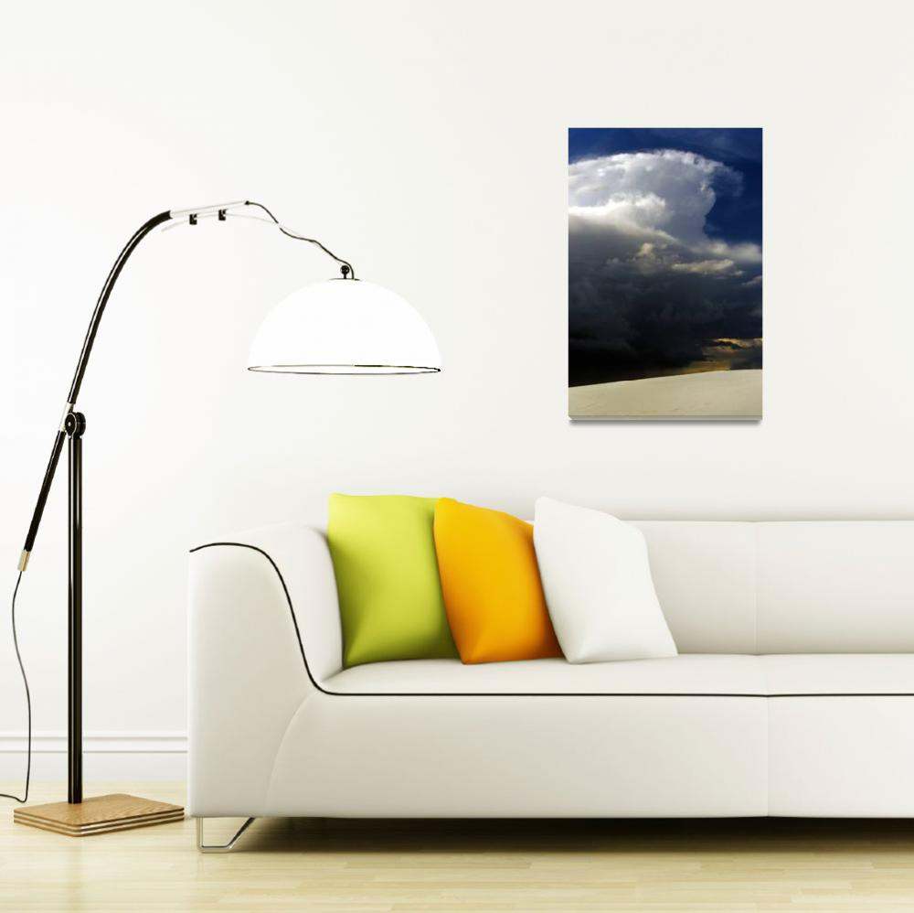 """""""Storm Over White Sands""""  (2007) by jwoodphoto"""