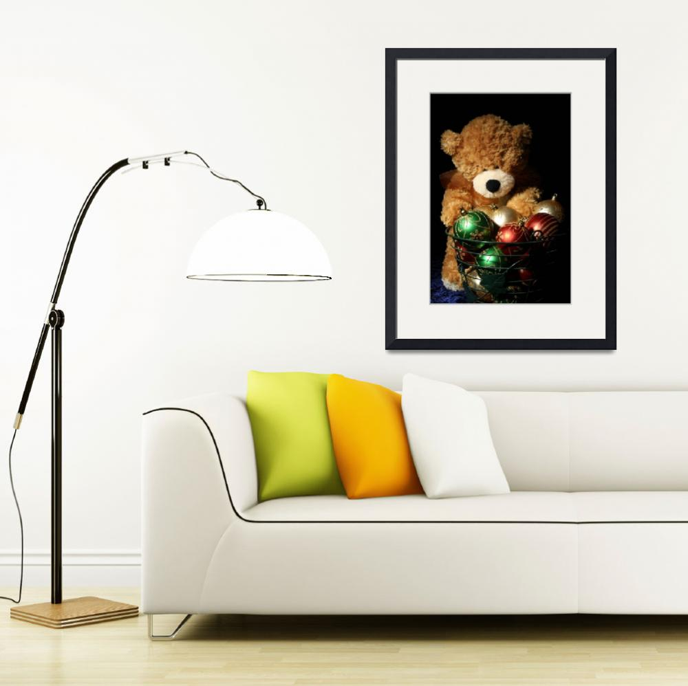 """""""Christmas Bear&quot  (2011) by ThisShot"""