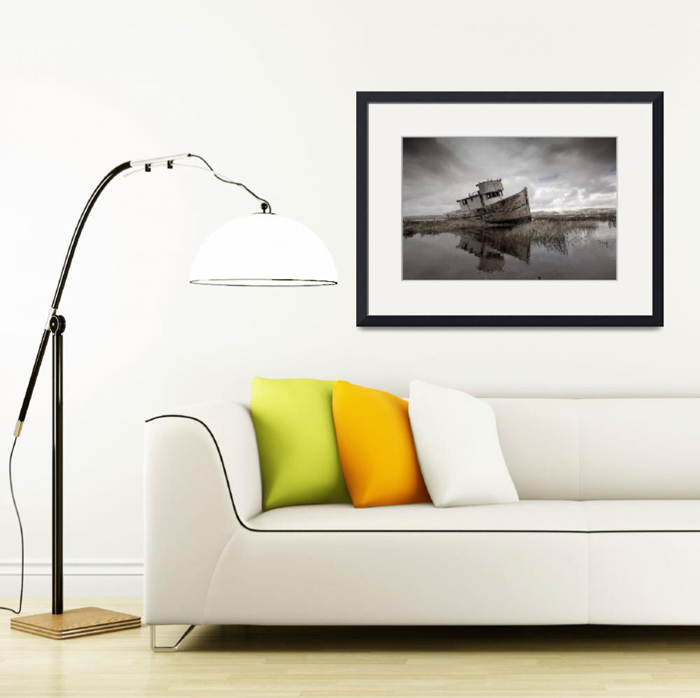 """""""Point Reyes Boat II&quot  (2010) by SederquistPhotography"""