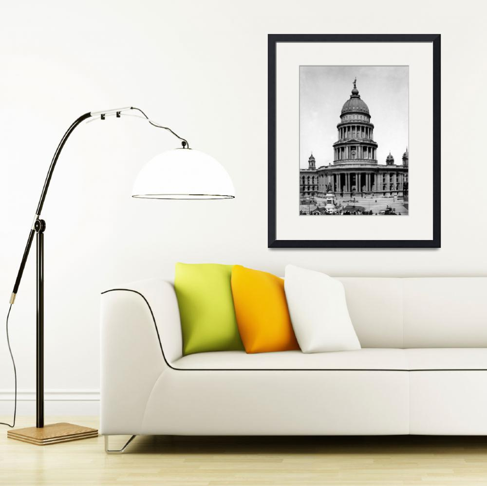 """""""City Hall ante 1906, San Francisco&quot  by worldwidearchive"""