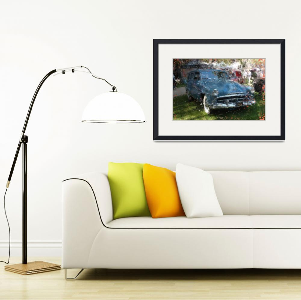 """""""Plymouth wagon&quot  (2011) by CLaGreca"""