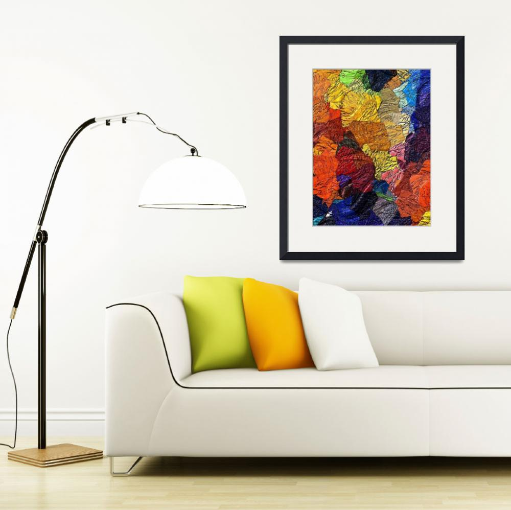 """""""Colors and Shapes by rafi talby&quot  (2012) by RT3D"""