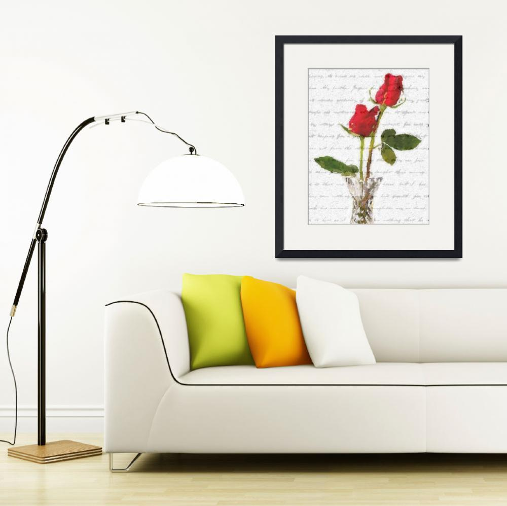 """""""roses with words""""  by lizmix"""