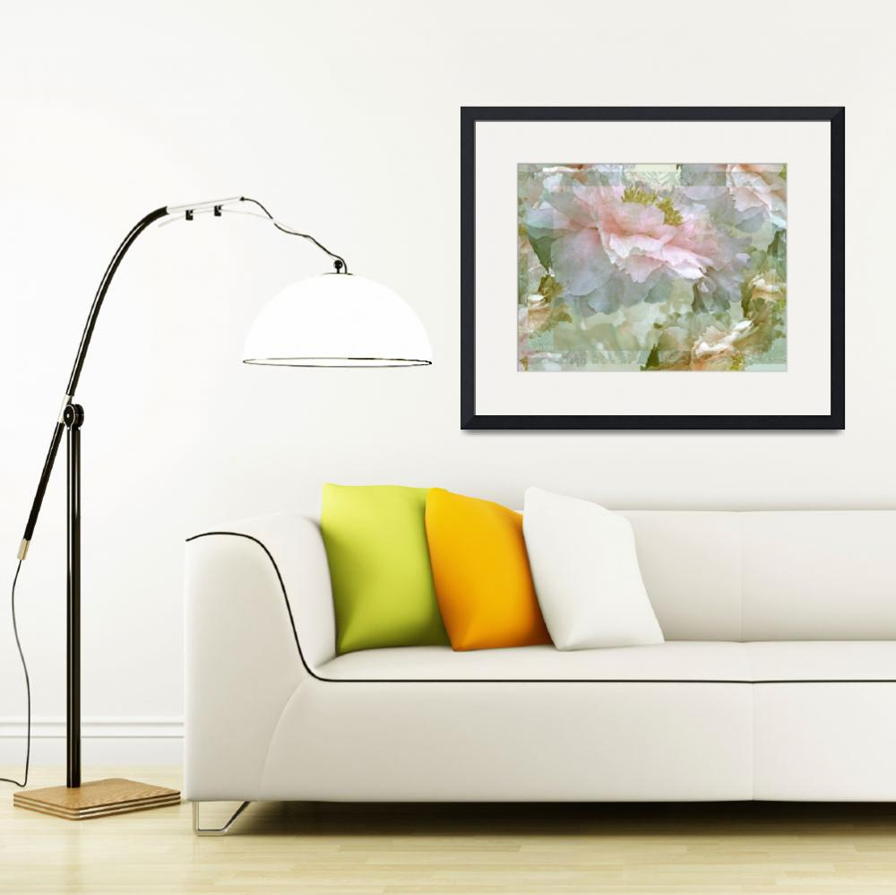 """""""Floral Potpourri with Peonies 25&quot  by LyndaLehmann"""