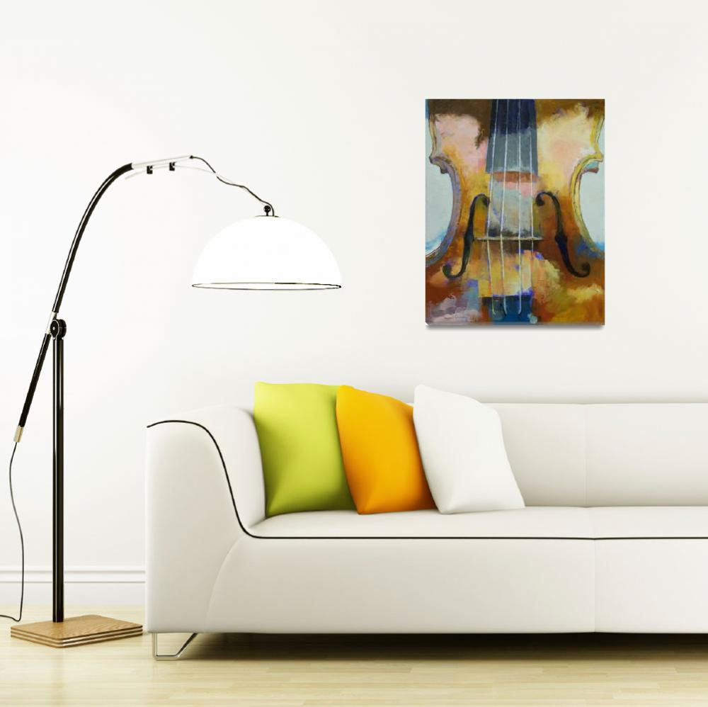 """""""Violin Painting&quot  by creese"""