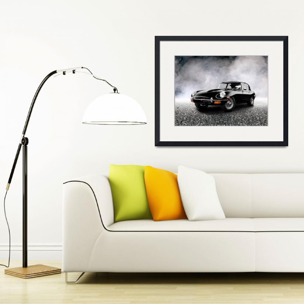 """""""The 1968 E-Type""""  (2011) by mark-rogan"""