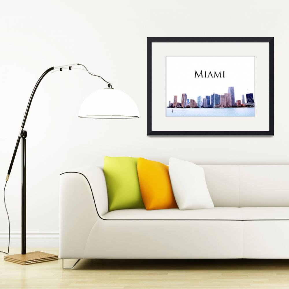 """Miami""  by ideaproductions"
