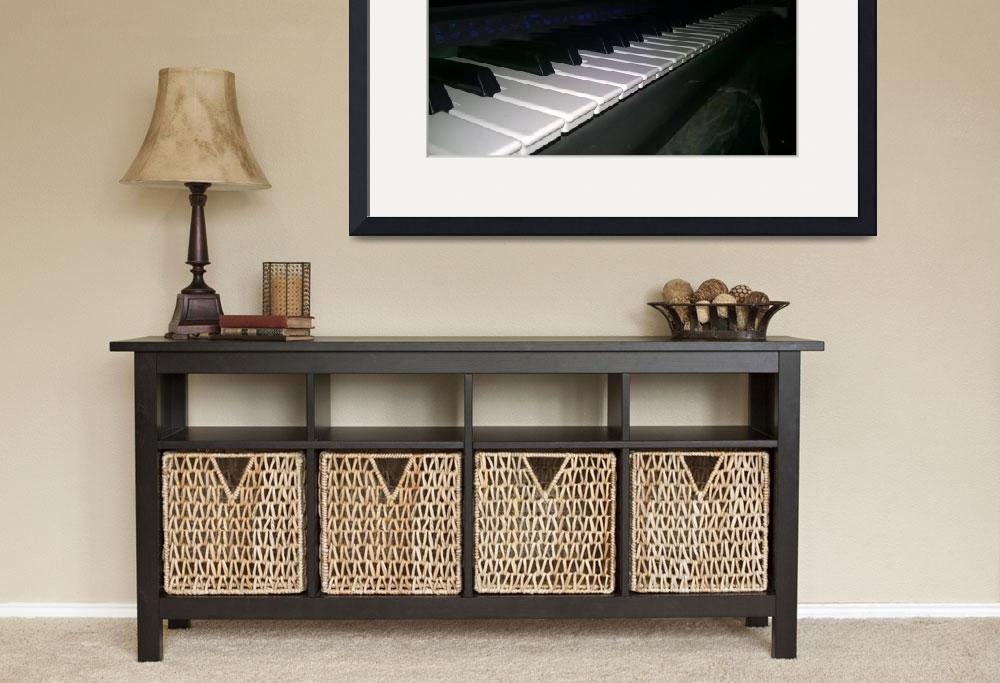 """""""A beautiful keyboard Piano&quot  (2015) by TheArtist-786"""