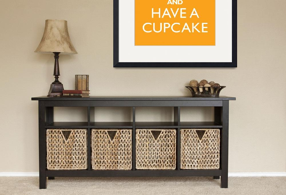 """""""Keep Calm and have a cupcake MANGO&quot  by cjprints"""