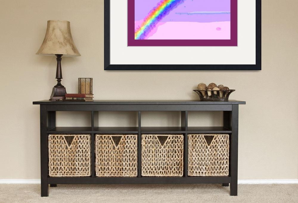 """""""Rainbow with border&quot  (2013) by TheNorthernTerritory"""