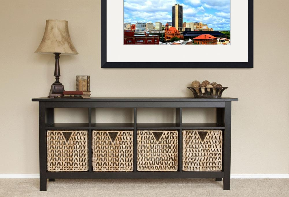 """Richmond, Virginia Skyline, James Monroe Building""  by Artsart"