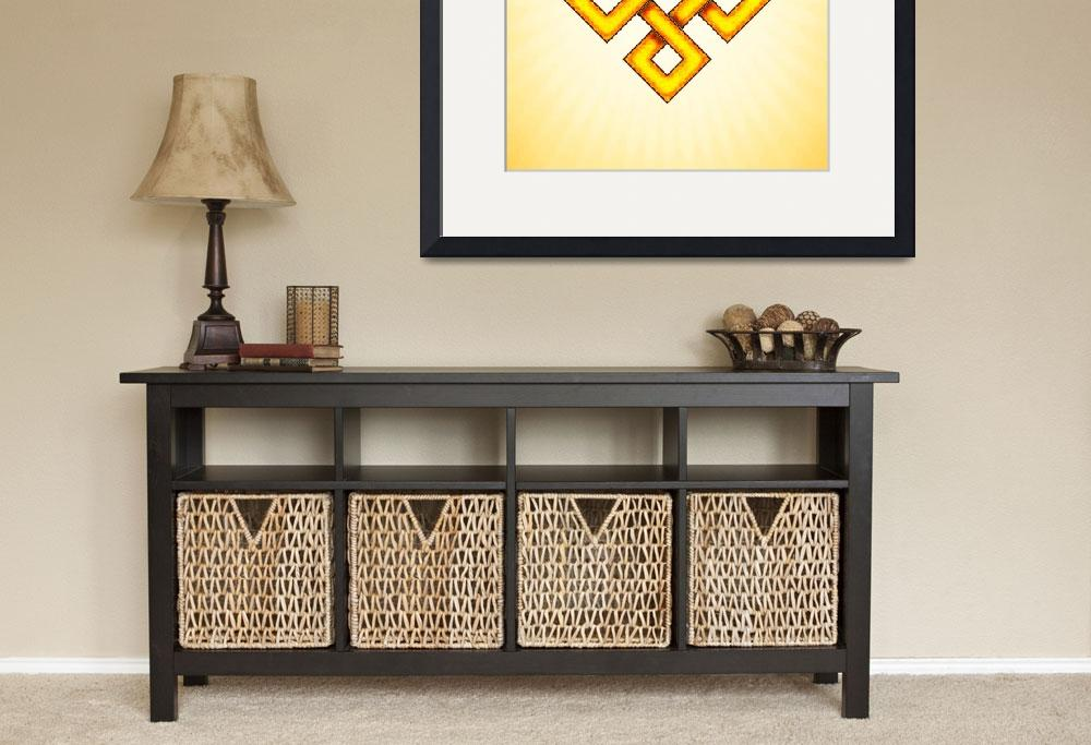 """""""Endless Knot - Yellow""""  by dcz"""
