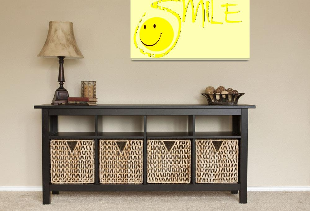 """""""smile all yellow""""  by lizmix"""