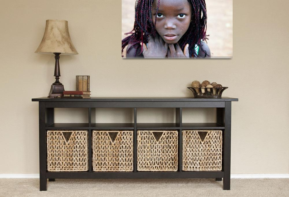 """""""African Girl&quot  (2013) by SimonFenton"""