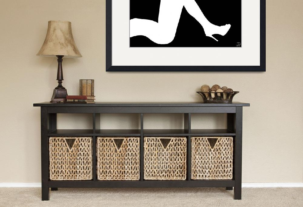 """""""Legs Silhouette""""  (2010) by ADDesigns"""