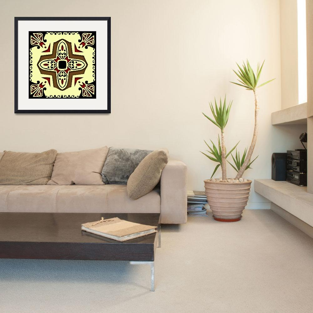 """""""Spanish Style Tile&quot  (2010) by isa"""