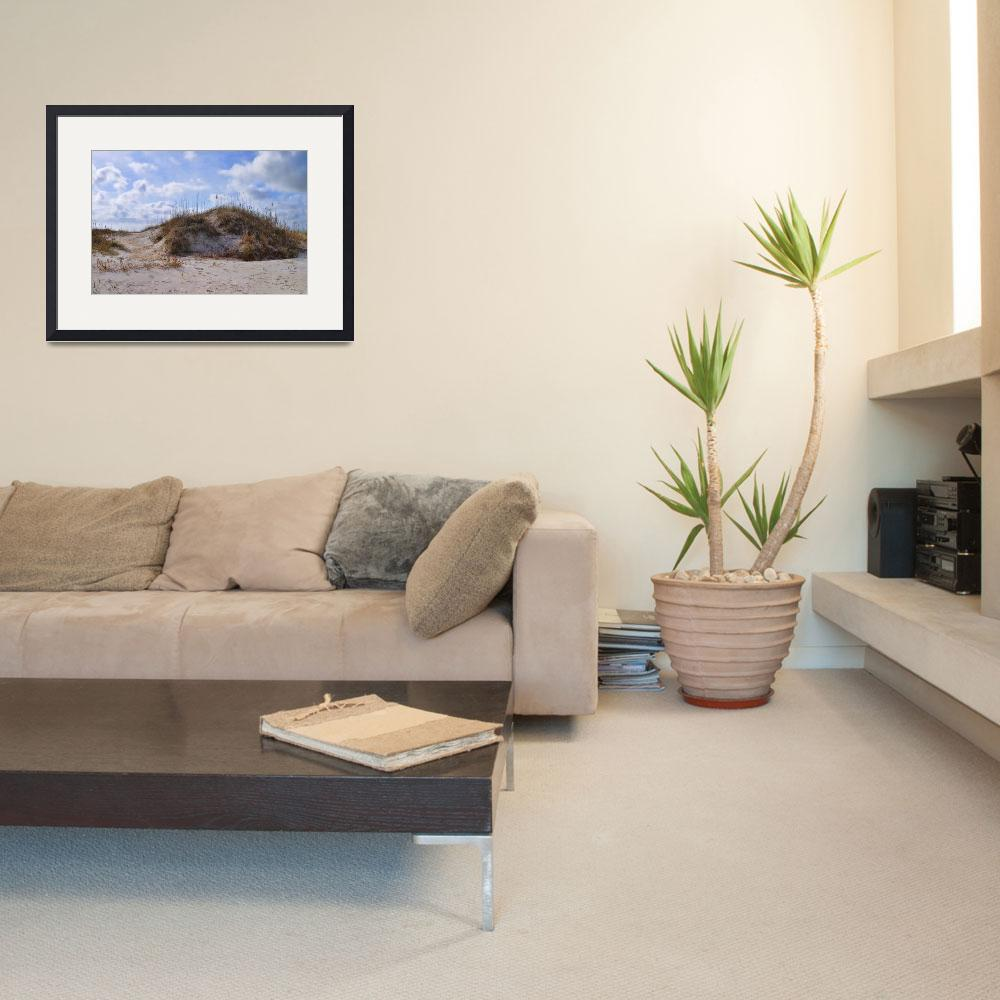 """""""Winter Dunes&quot  by WrightFineArt"""