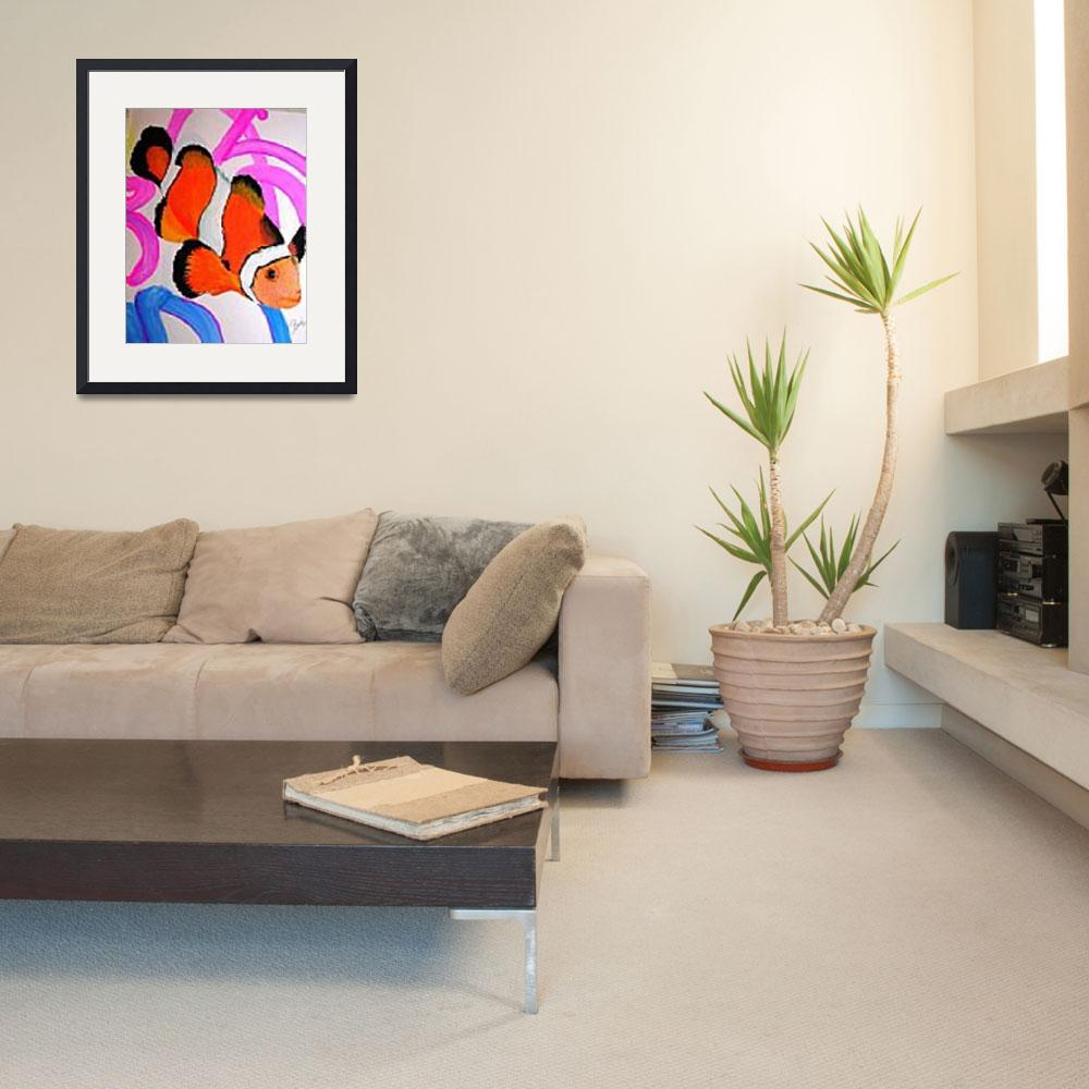 """""""Tropical Reef Fish&quot  (2001) by 1kelton"""