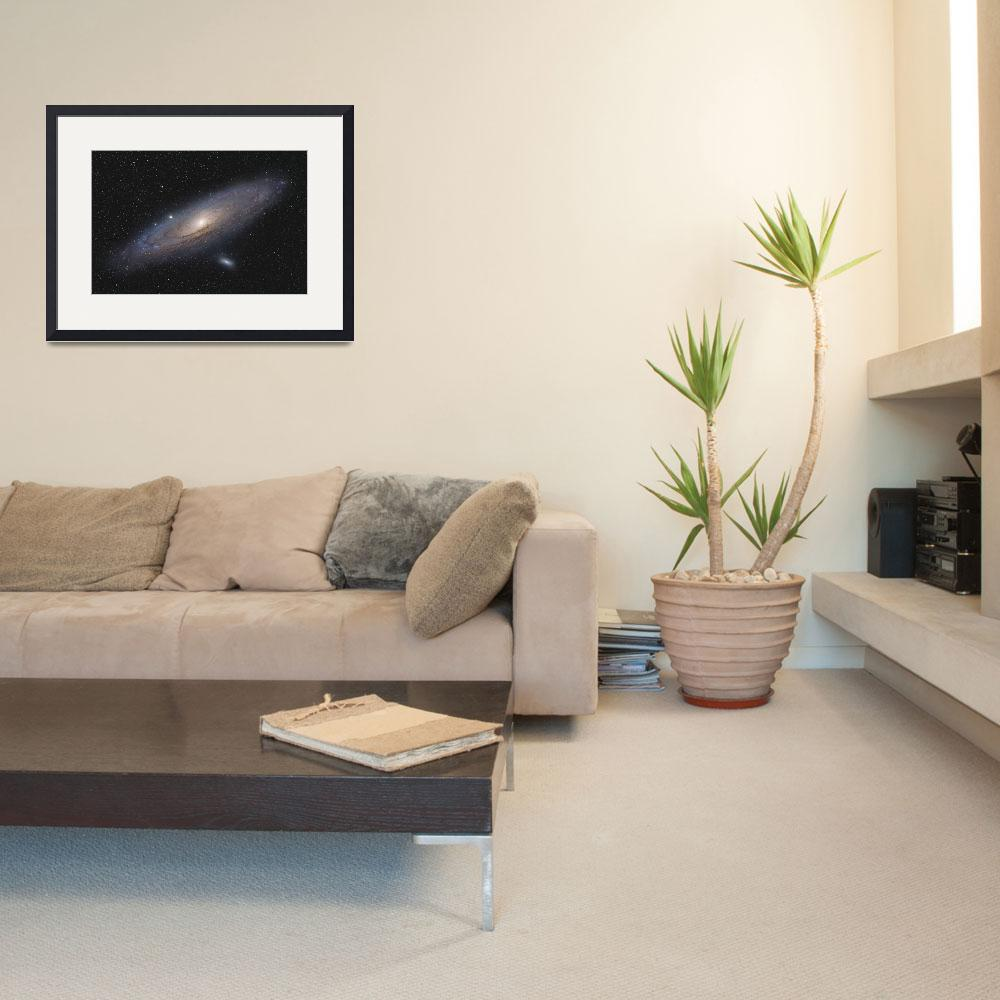 """""""M31 Andromeda Galaxy&quot  (2012) by joerenzetti"""