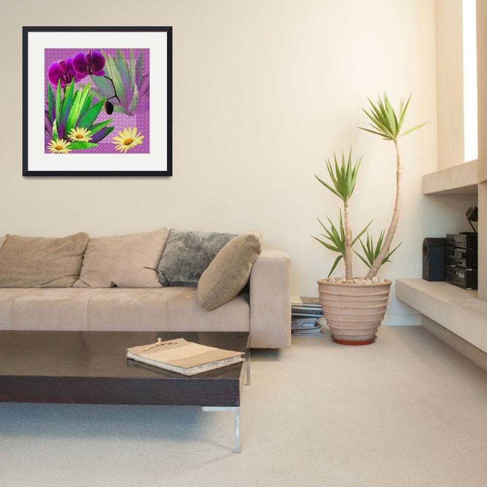 """Composition with a cactus""  (2010) by milikArt"