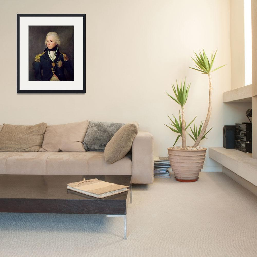 """""""Portrait of Horatio Nelson""""  by fineartmasters"""