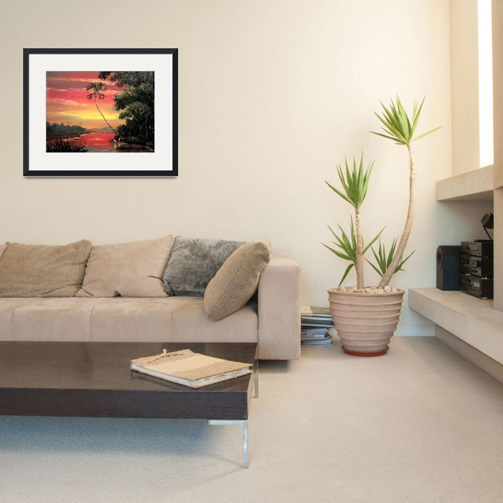 """""""Tropical Fire Sky&quot  (2006) by mazz"""