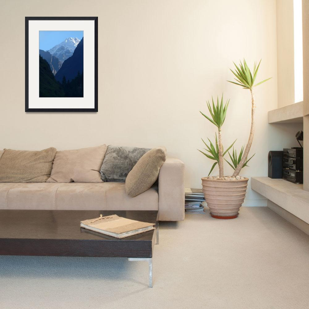 """""""Pines and Mountains near Dharapani""""  by Serena"""