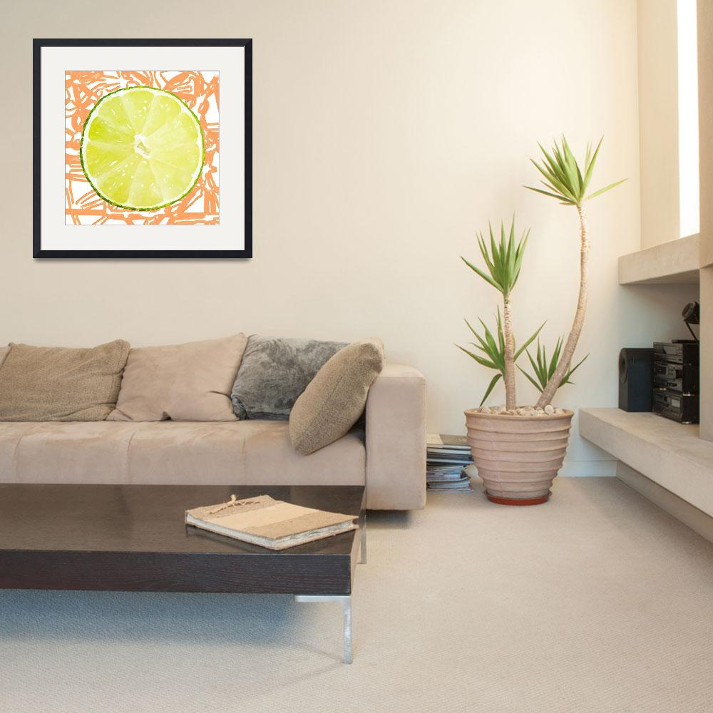 """""""Citrus Series - Lime&quot  (2015) by TheBlushLabel"""