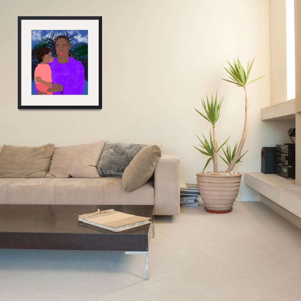 """""""Mother and Daughter&quot  (2006) by pharrisart"""
