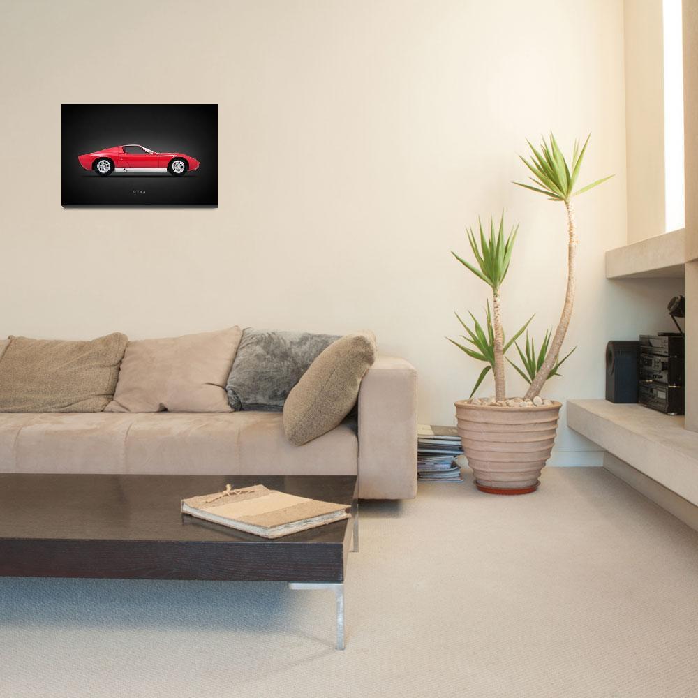 """""""The Miura P400 S""""  by mark-rogan"""