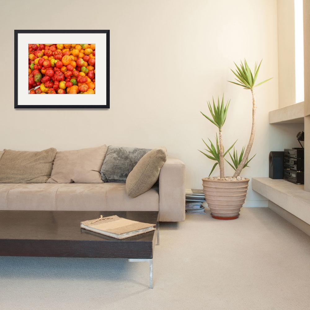 """""""tomatoes&quot  (2007) by NickBiscardiArt"""