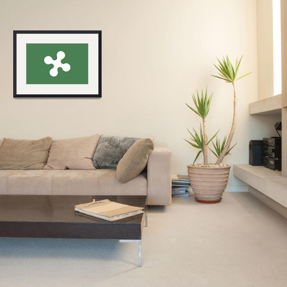 """Lombardy flag&quot  by tony4urban"