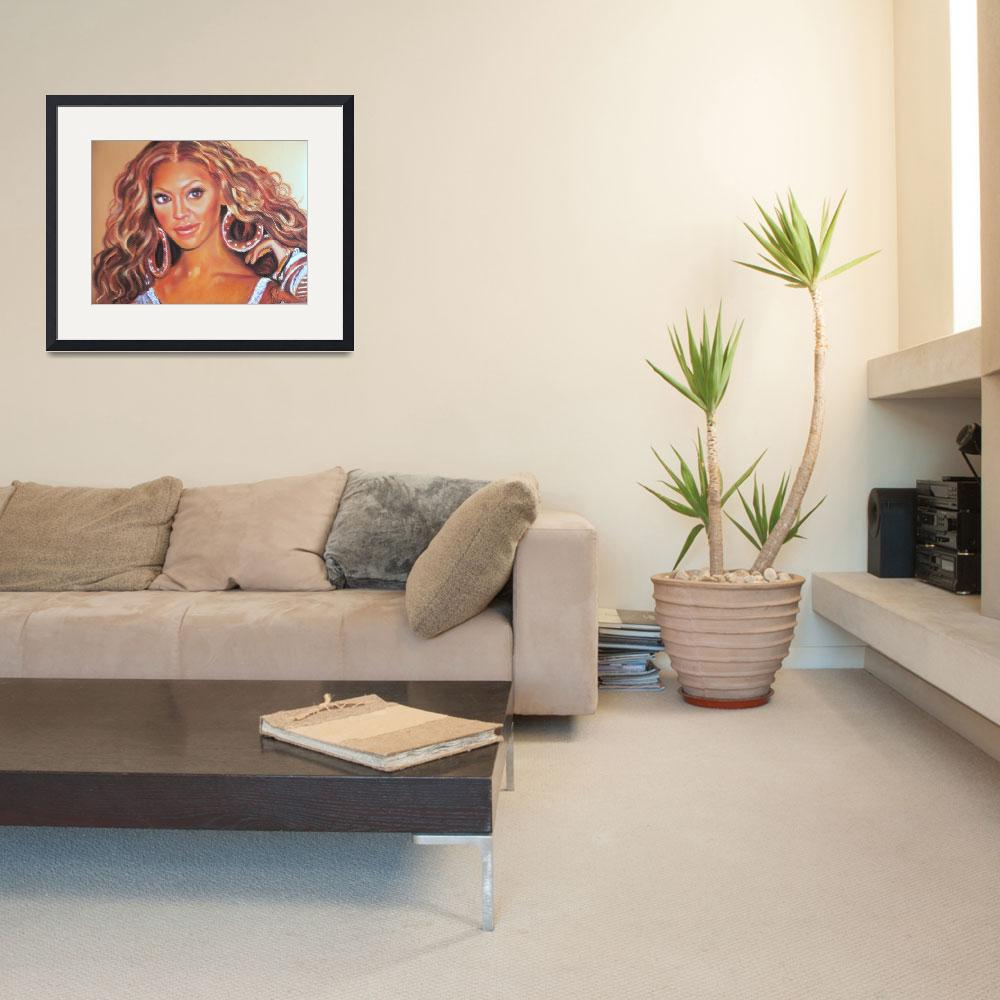 """""""Beyonce Knowles&quot  (2007) by starportrait"""