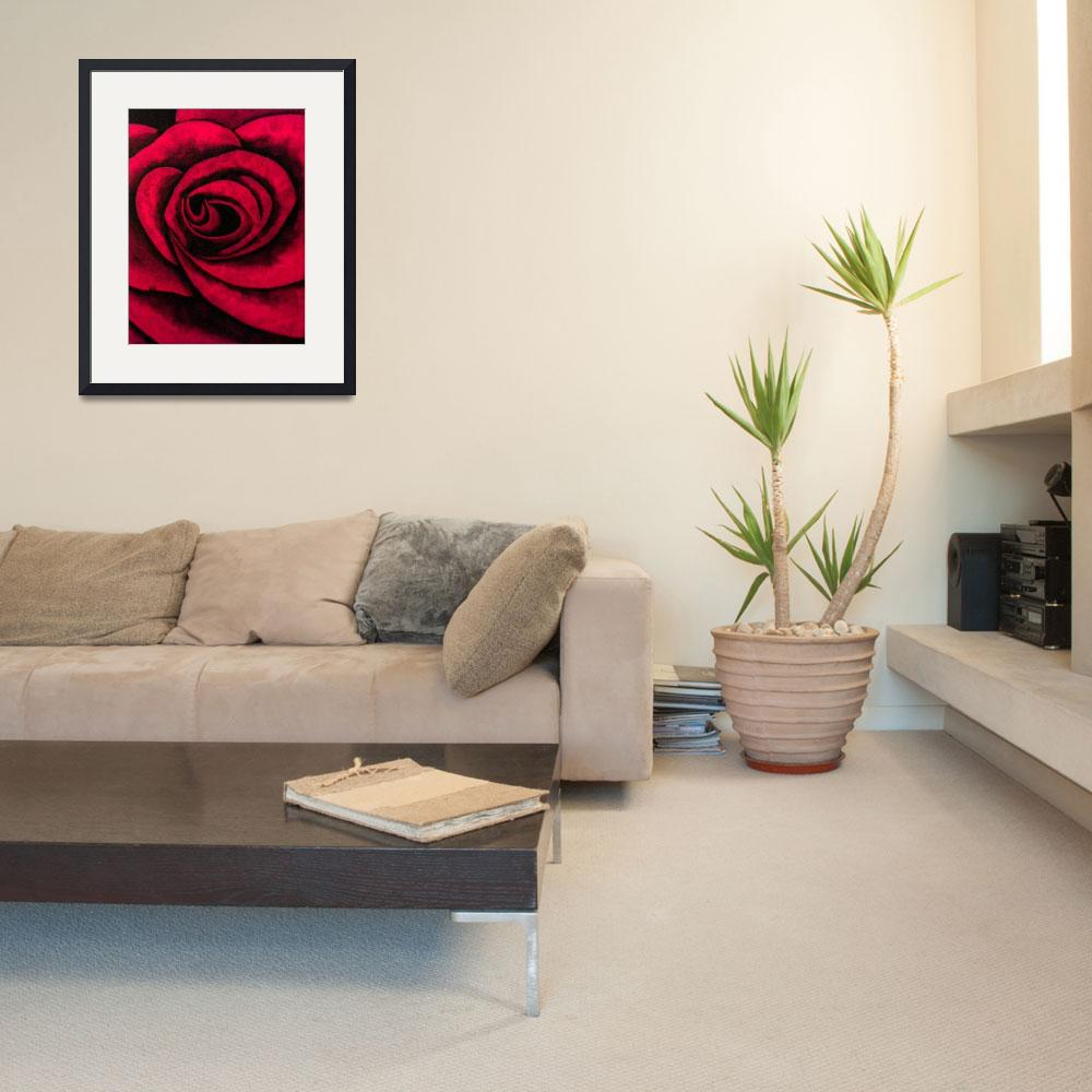 """""""Big Rose&quot  (2005) by jamesmarlow"""
