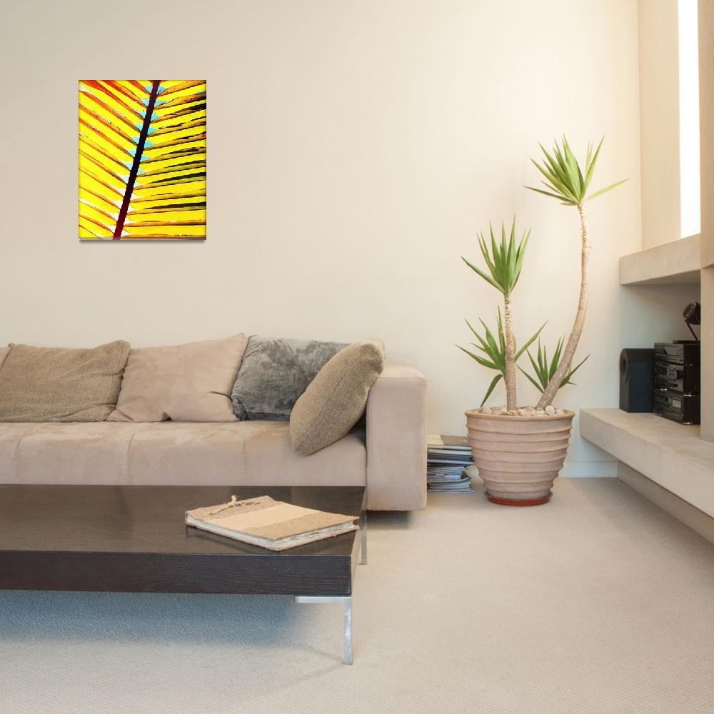 """Palm Leaf Photography""  (2014) by ChrisAndruskiewicz"