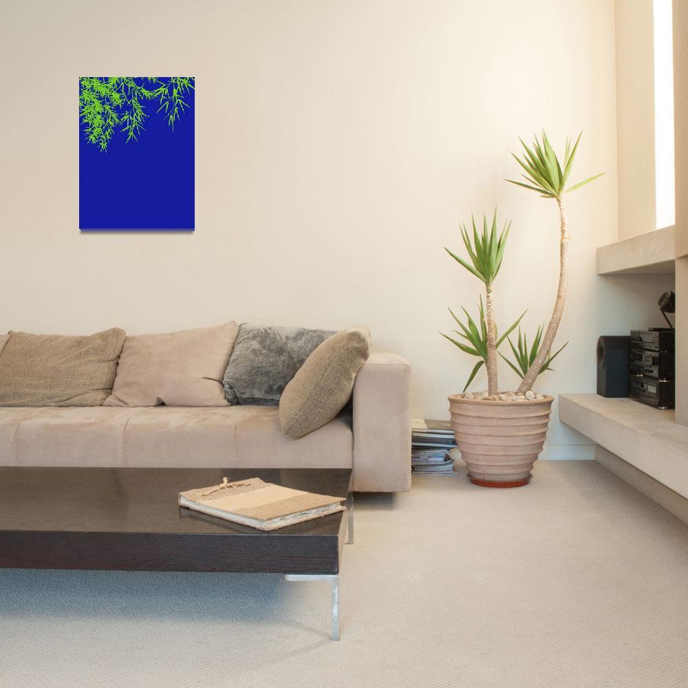 """Bamboo leaves""  (2010) by Bayardo"