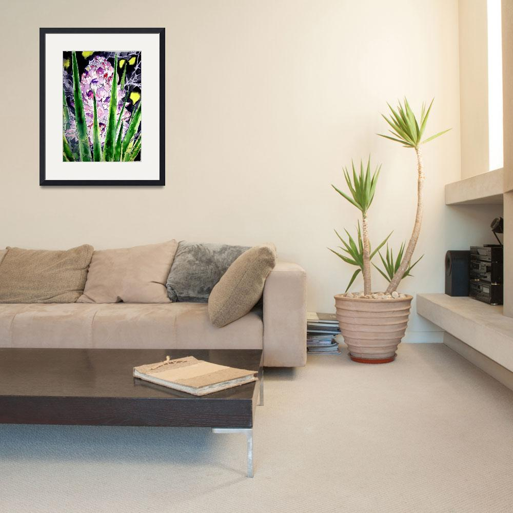 """yucca flower watercolor painting&quot  (2008) by derekmccrea"