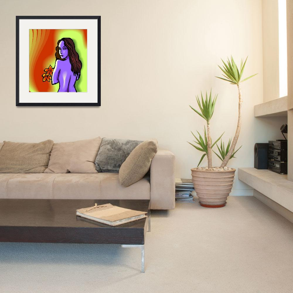 """""""nude girl&quot  (2009) by digitalpainting"""