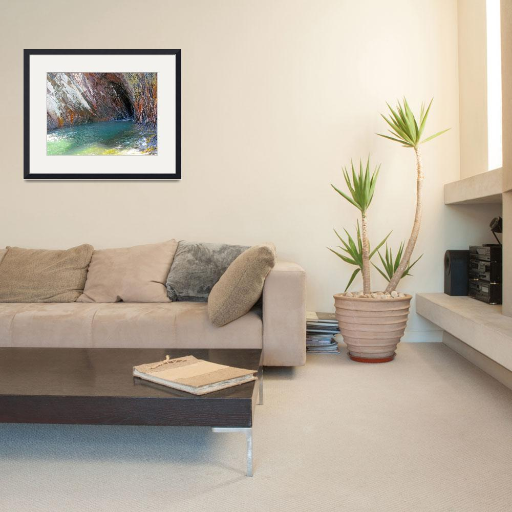 """""""Natural Sea Cave&quot  (2011) by MissDawn"""