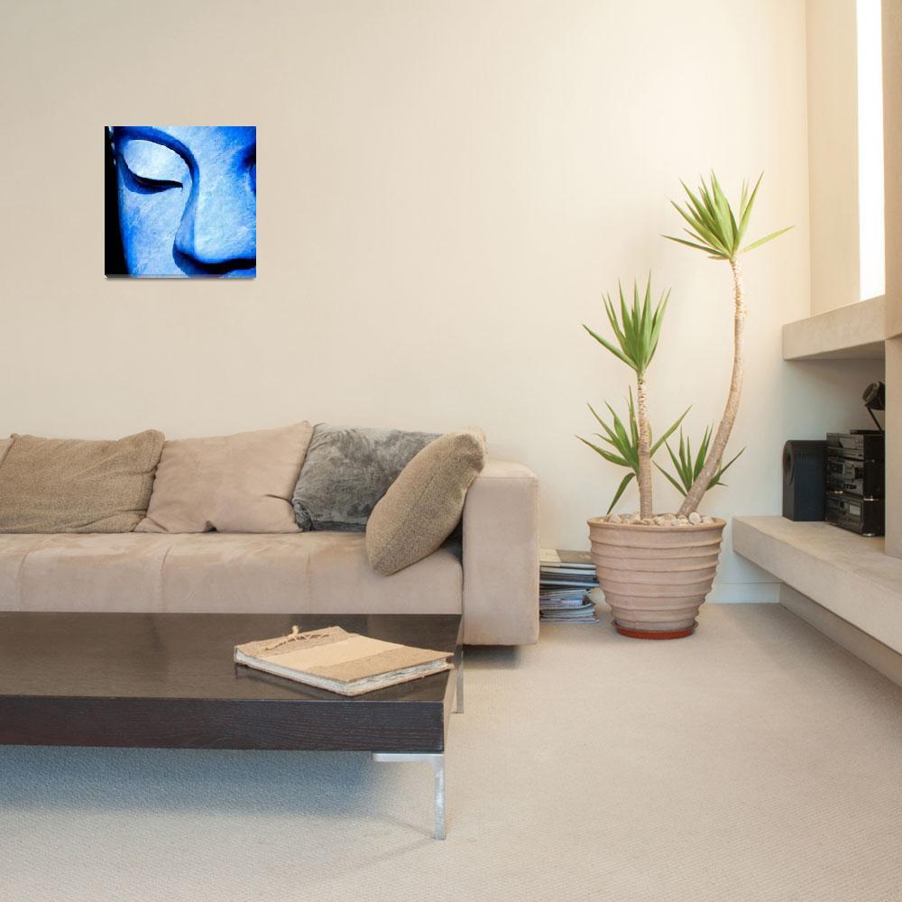 """""""Blue Buddha&quot  (2008) by paulasuterphoto"""