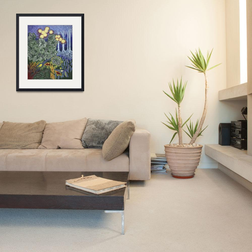 """""""Fine Art Prints Contemporary Abstract Modern Deco&quot  (2008) by BasleeTroutman"""