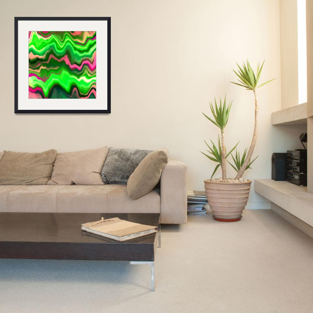 """""""Vibrant Green Marble&quot  by Prawny"""
