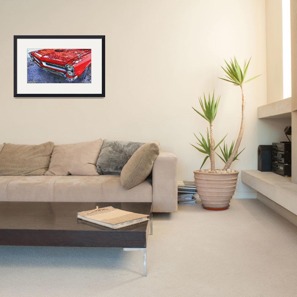 """""""1965 Pontiac GTO&quot  (2007) by Automotography"""