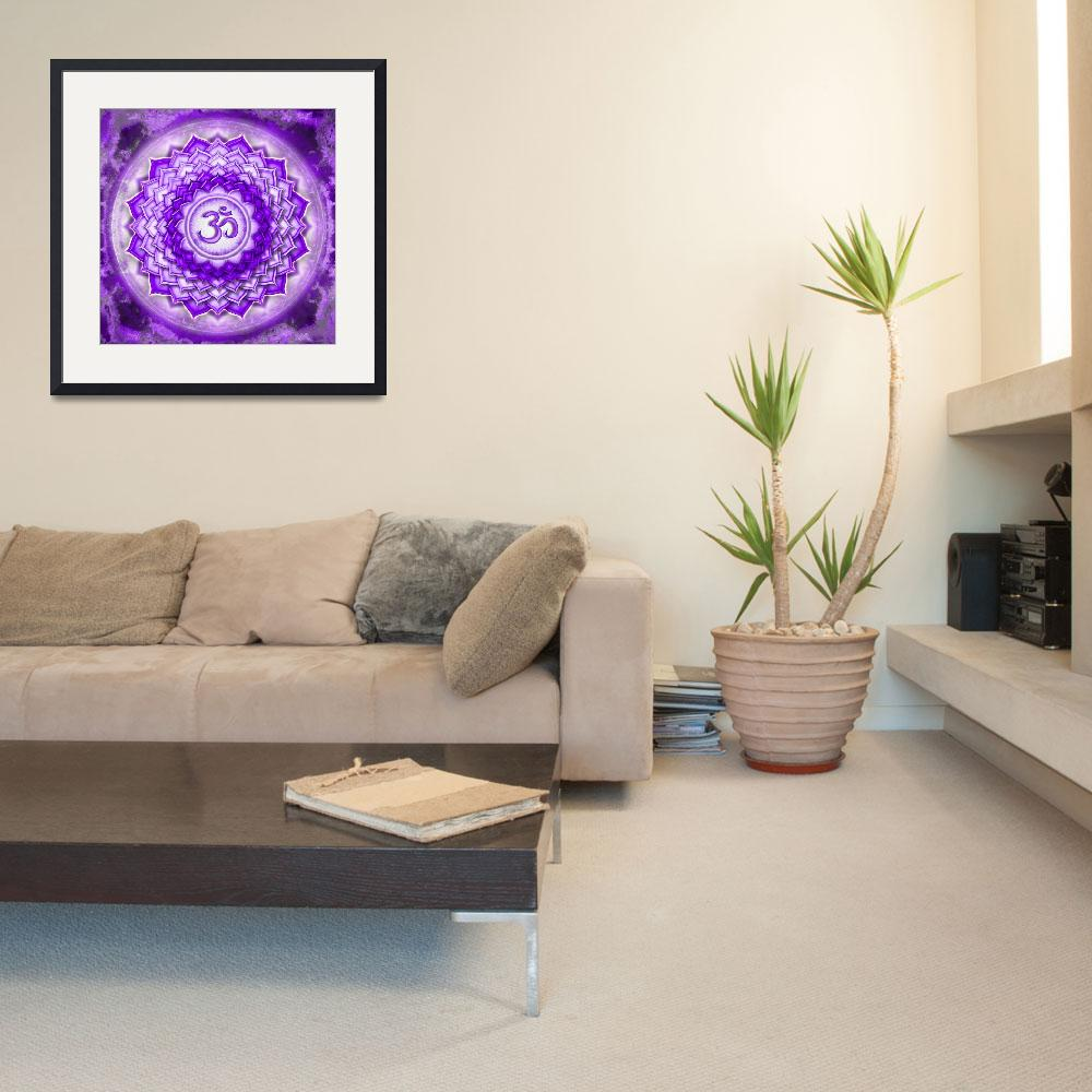 """""""Crown Chakra - Series 5&quot  by dcz"""