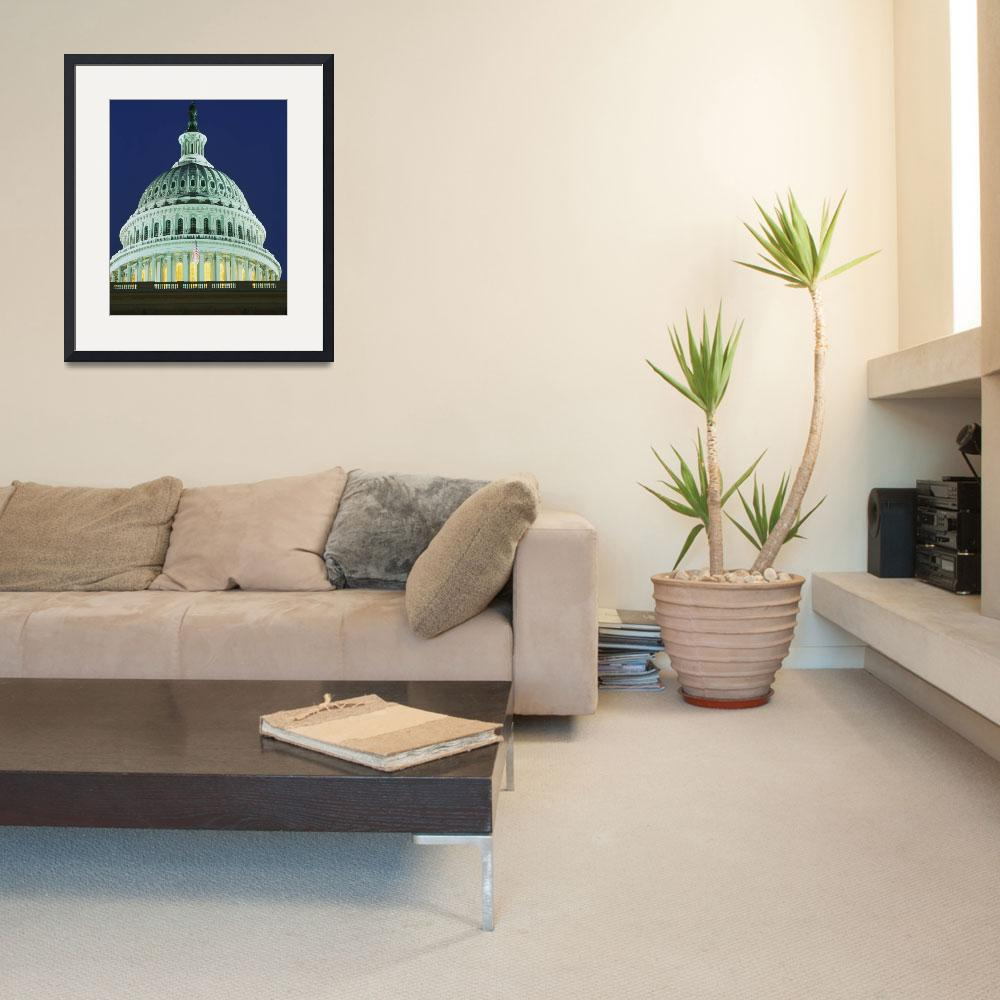 """""""Dome US Capitol Washington DC&quot  by Panoramic_Images"""