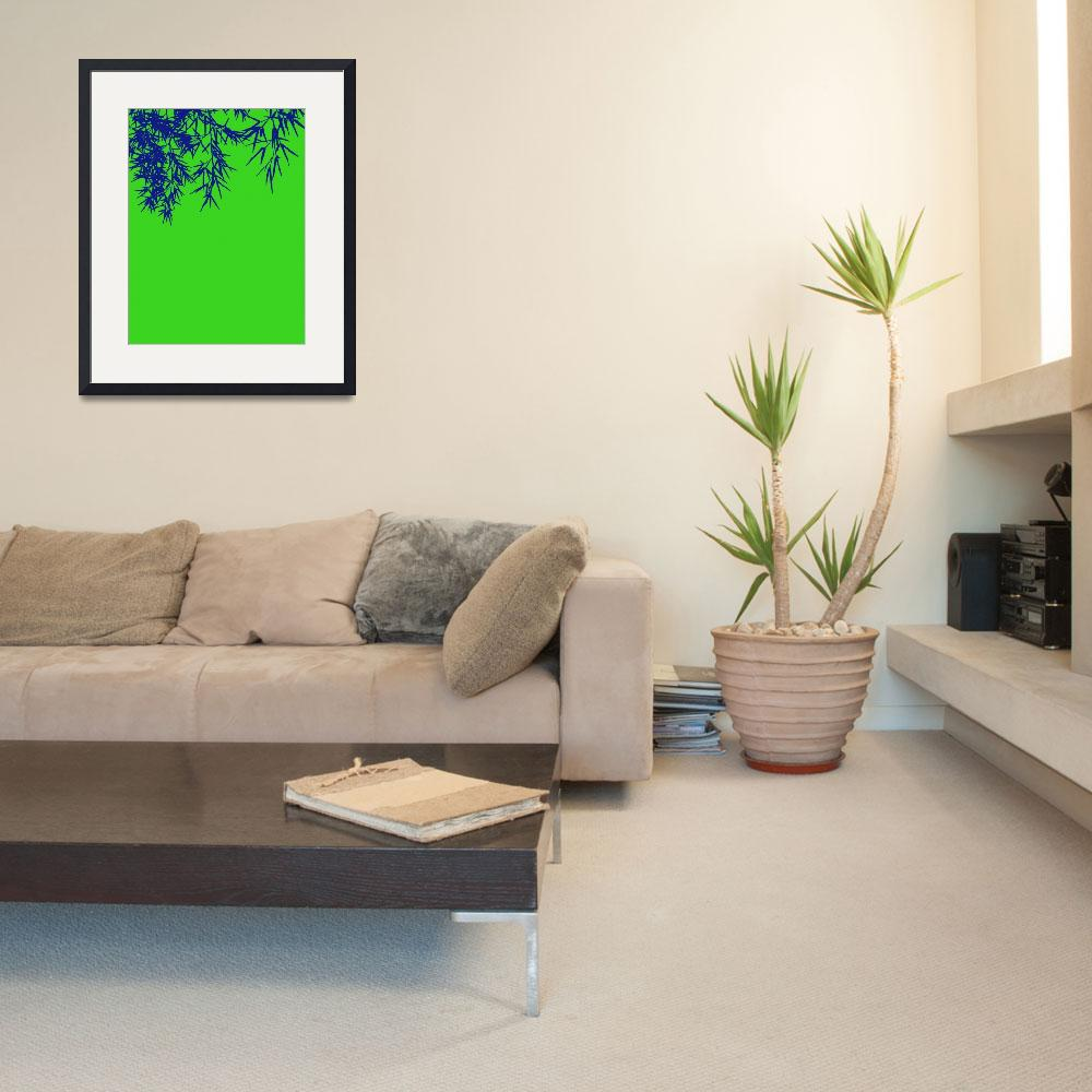 """""""Bamboo leaves&quot  (2010) by Bayardo"""